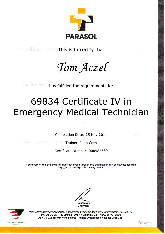 About tom aczel emergency medical response 1betcityfo Gallery